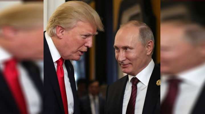 Putin nagpasalamat kay Trump sa pagpigil sa New Year terror attacks