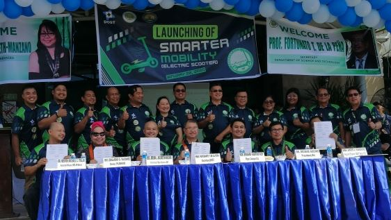 DOST turns over e-scooters to Cauayan City for 'smarter mobility""