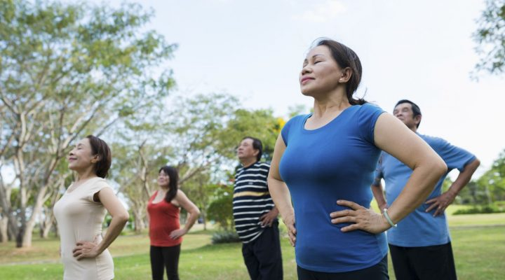 Breathing workout para mapababa ang blood pressure
